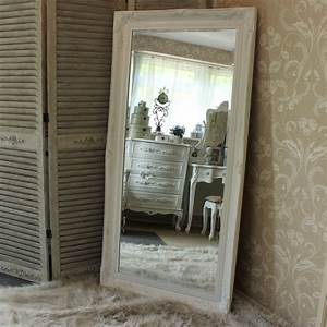 extra large white ornate mirror melody maisonr With miroir mural grande taille