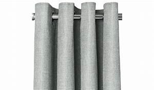 George home grey textured weave eyelet curtains curtains for Gray curtains texture