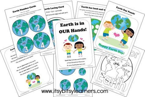 10 earth day activities amp crafts time for 726 | earth day pack