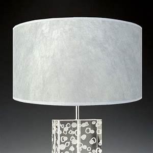 Lampenschirm 40 Cm : lampenschirm silber 40 x 20 cm edles japanpapier online ~ Pilothousefishingboats.com Haus und Dekorationen