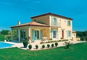 photo de facade de maison provencale With couleur facade maison provencale 6 photo de facade de maison provencale