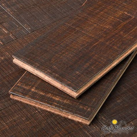 Rustic Barnwood Wide Plank Fossilized Strand? Bamboo