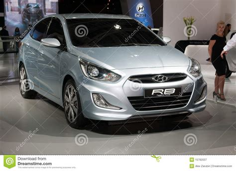 Hyundai Rb Concept Car Editorial Photography Image
