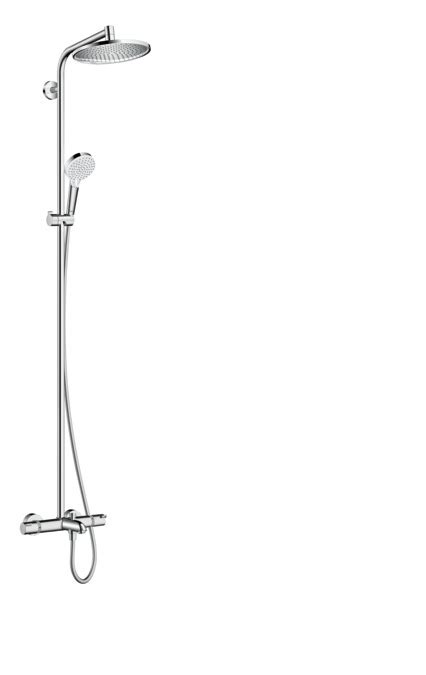 hansgrohe shower pipes crometta s 1 spray mode 27320000
