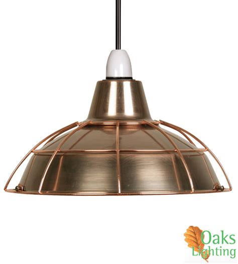 oaks lighting elgg non electric ceiling pendant copper