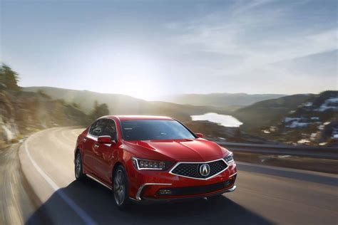 Acura Rlx Gets Fresh Looks New 10 Speed Automatic For