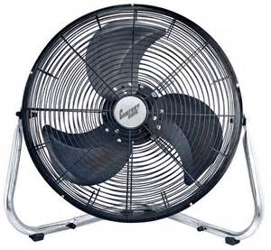 High Velocity Floor Fan by Comfort Zone Czhv18b 18 Inch High Velocity Floor Fan Ebay