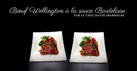 cours de cuisine avec chef étoilé boeuf wellington à la sauce bordelaise par david ibarboure