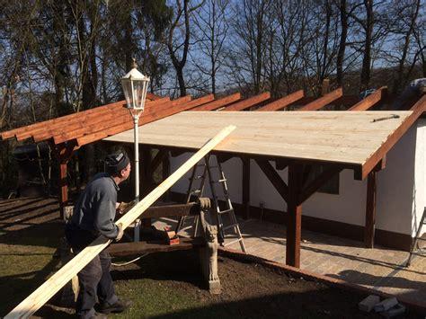 Anbau Garage by Carport Als Anbau An Garage Karst Holzhaus