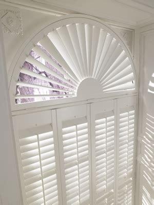 shaped shutters carolina blinds  shutters