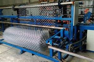 Automatic Chain Link Fencing Making Machine  Rajkot  Gujarat  India