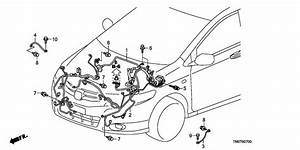 Wire Harness For 2010 Honda City Gm2
