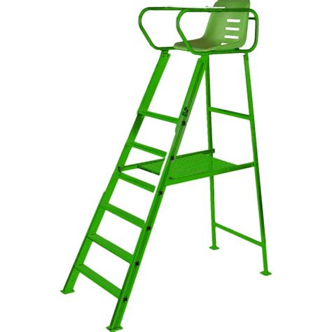 putterman deluxe umpire chair green from do it tennis