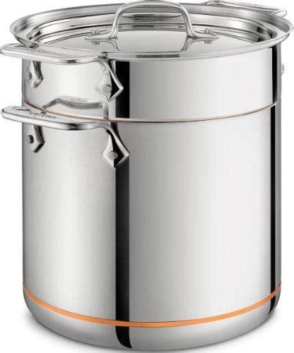 clad copper core  qt pasta pentola insert