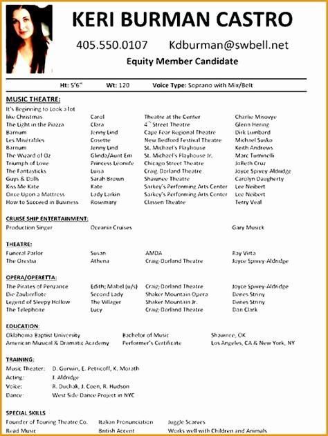 7 sle of comprehensive resume free sles exles