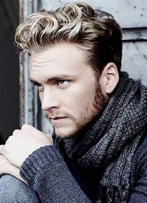 top 10 hairstyles for guys with blonde hair 2018 trends