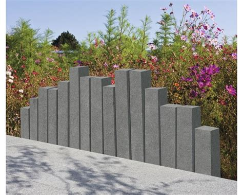 Flairstone Leistenstein Trendline Granit Stahlgrau