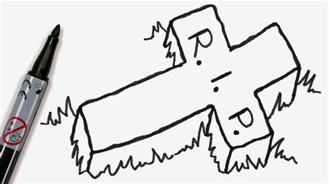 How To Draw A Cartoon Halloween Tombstone With Rest In