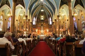 People in Church Catholic Mass