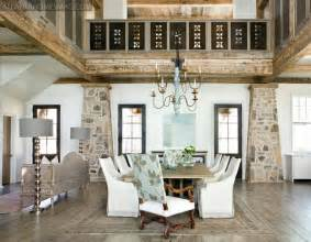 lake home interiors rustic and graceful lake house by tracery interiors interior design files