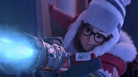 wallpaper mei overwatch rise  shine  games