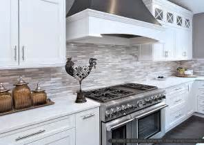 backsplash for white kitchen white modern subway marble mosaic backsplash tile