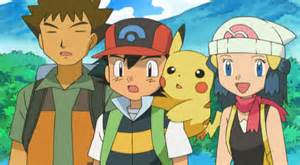 pokemon ash and dawn images