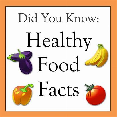 Healthy Did Know Facts Trivia Nutrition Child