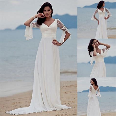 white beach wedding dresses casual sandiegotowingca com