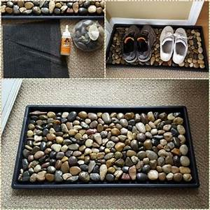 10, Creative, Diy, Home, Decor, Ideas, With, Pebbles, And, River, Rocks