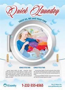 quick laundry service flyer template 111 by 21min With laundry flyers templates