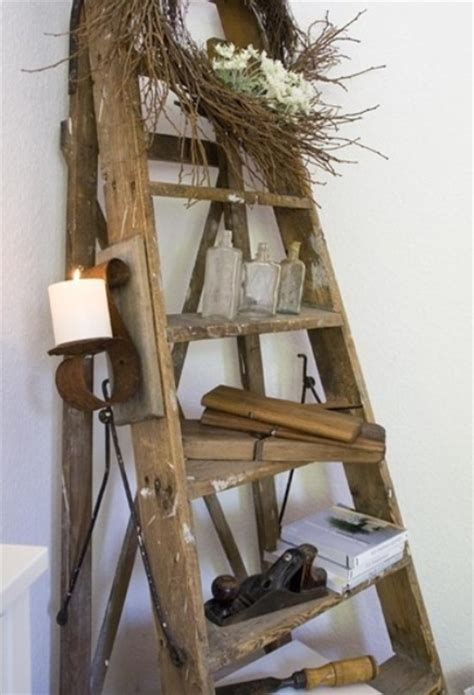 Decorating Ideas With Old Ladders by 36 D 233 Cor Ideas With Ladders Vintage Charm With Space
