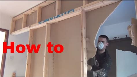how to remove a load bearing interior wall how to remove a stud wall non load bearing wall new