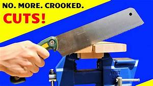 Diy Magnetic Handsaw Cutting Guide