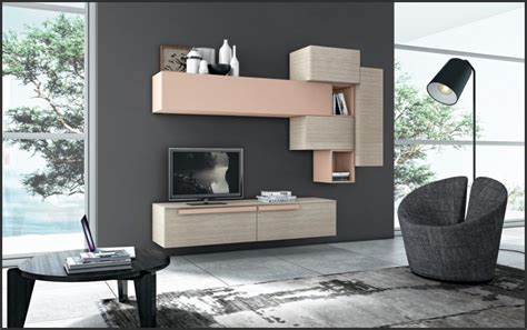 modern and fashionable wall mounted tv storage ideas from