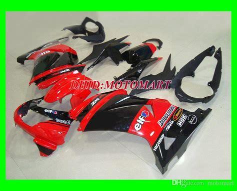 red black fairing kit  kawasaki ninja zxr zx