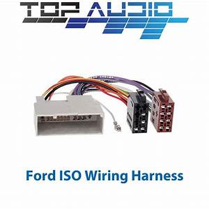 Ford Iso Wiring Harness Stereo Radio Plug Lead Wire Loom