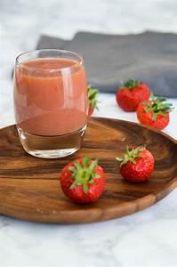 Jus De Fruit Maison Avec Blender : jus de fruits frais fait maison au blender aux fraises pomme et poire ~ Medecine-chirurgie-esthetiques.com Avis de Voitures
