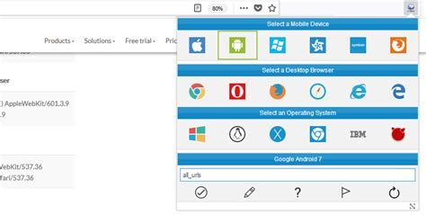 user agent change switcher firefox agents why