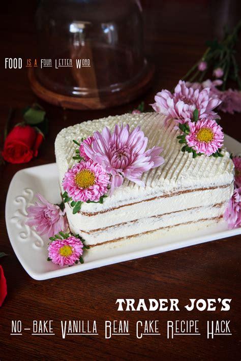 trader joes  bake vanilla bean mini sheet cake recipe