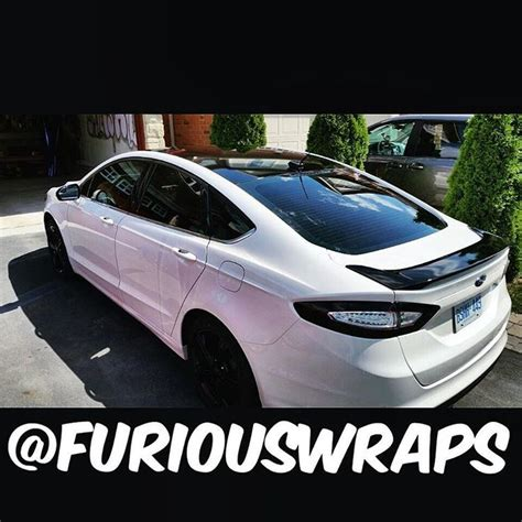 2015 focus st tail light tint ford fusion roof spoiler wrap custom tail light tint