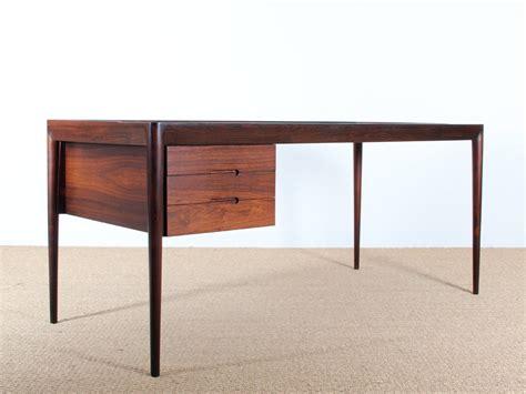 scandinavian desk  rosewood designed  erik riisager