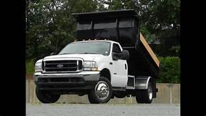 2004 Ford F-550 Xlt Roll Off Dump Truck 6 0l Powerstroke Turbo Diesel
