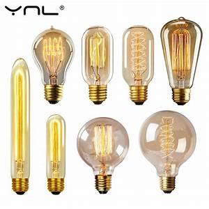 Ampoule Filament Vintage : edison bulb lampada retro lamp incandescent ampoule ~ Edinachiropracticcenter.com Idées de Décoration