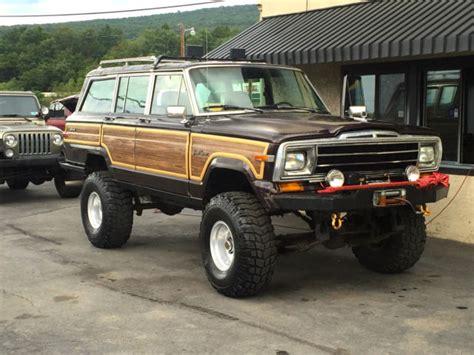 1989 jeep wagoneer lifted 1989 jeep grand wagoneer 4x4 off road lifted nice custom