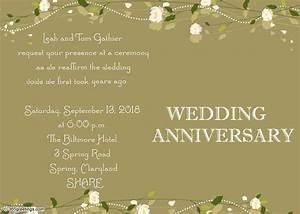 thanksgiving invitation wording 365greetingscom With wedding anniversary invitations messages