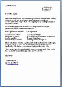 Job Cover Letter Template Job Application Letter Sample Kenya Job Application Letter Email Sample Sample Cover Letter 7 Application Letter For Employment Basic Job