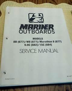 Maintenance  U0026 Service Manual Mercury Mariner Outboard