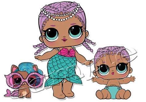 Iron On Transfer Lol Doll Dolls Surprise Pets Splash Meow
