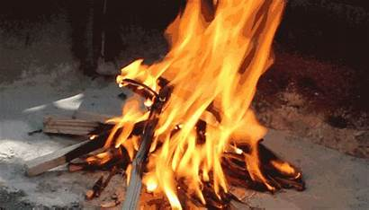 Campfire Build Fire Gifs Wood Lasts Mark
